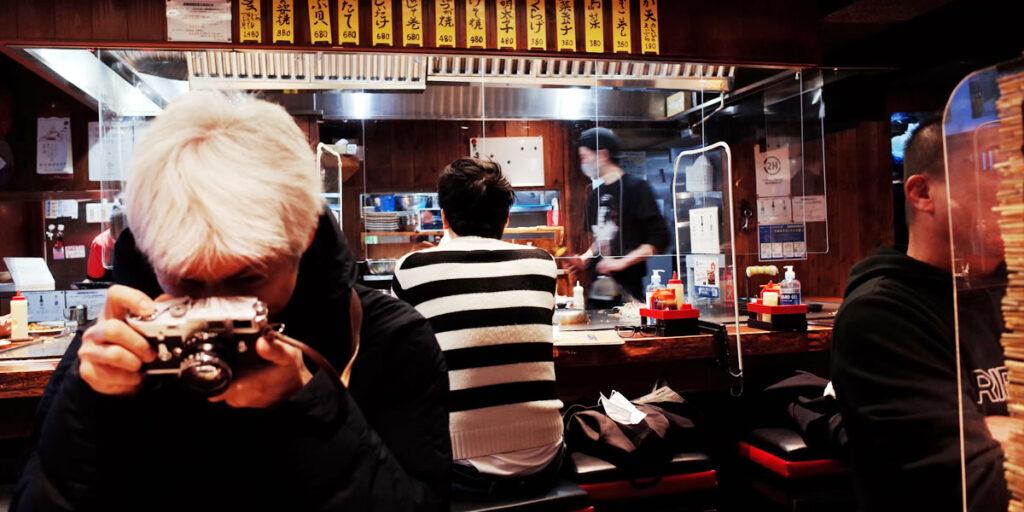 念願の広島風お好み焼きを食べに、もみじ屋へ