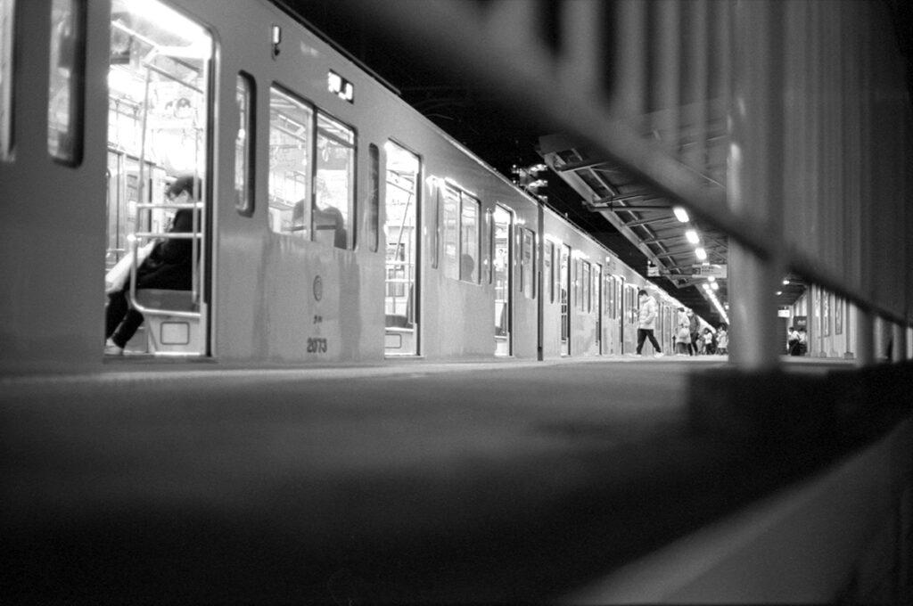 やまちゃんでお腹いっぱい、お家へ帰ろう|Leica M3 + C Sonnar T* 1.5/50 ZM + Kodak TRI-X 400