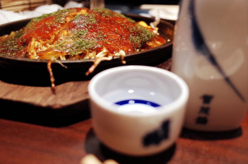 もみじ屋は広島の日本酒もたくさんあって楽しみ倍増