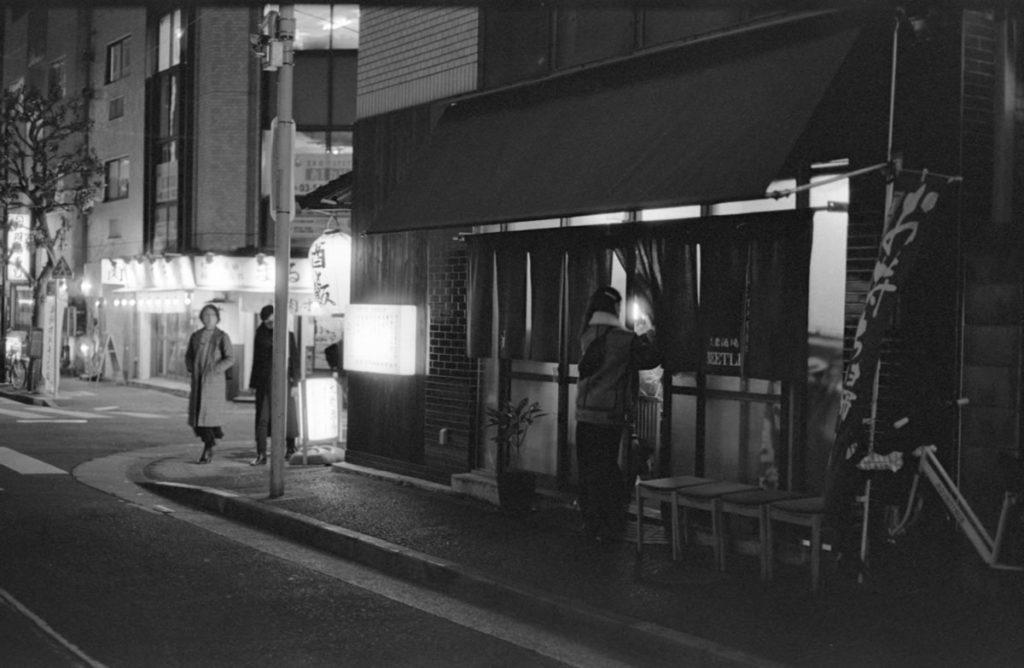 大衆酒場BEETLE 五反田の店舗情報 Leica M3 + C Sonnar T* 1.5/50 ZM + Fujifilm Neopan 400 Presto