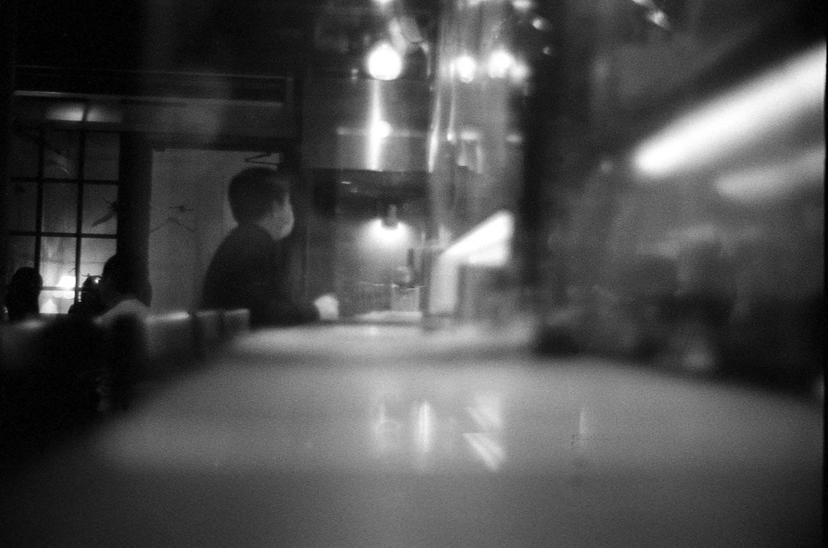 京都の夜ご飯 LEICA M5 + SUMMILUX 35mm F1.4 + Kodak TRI-X 400