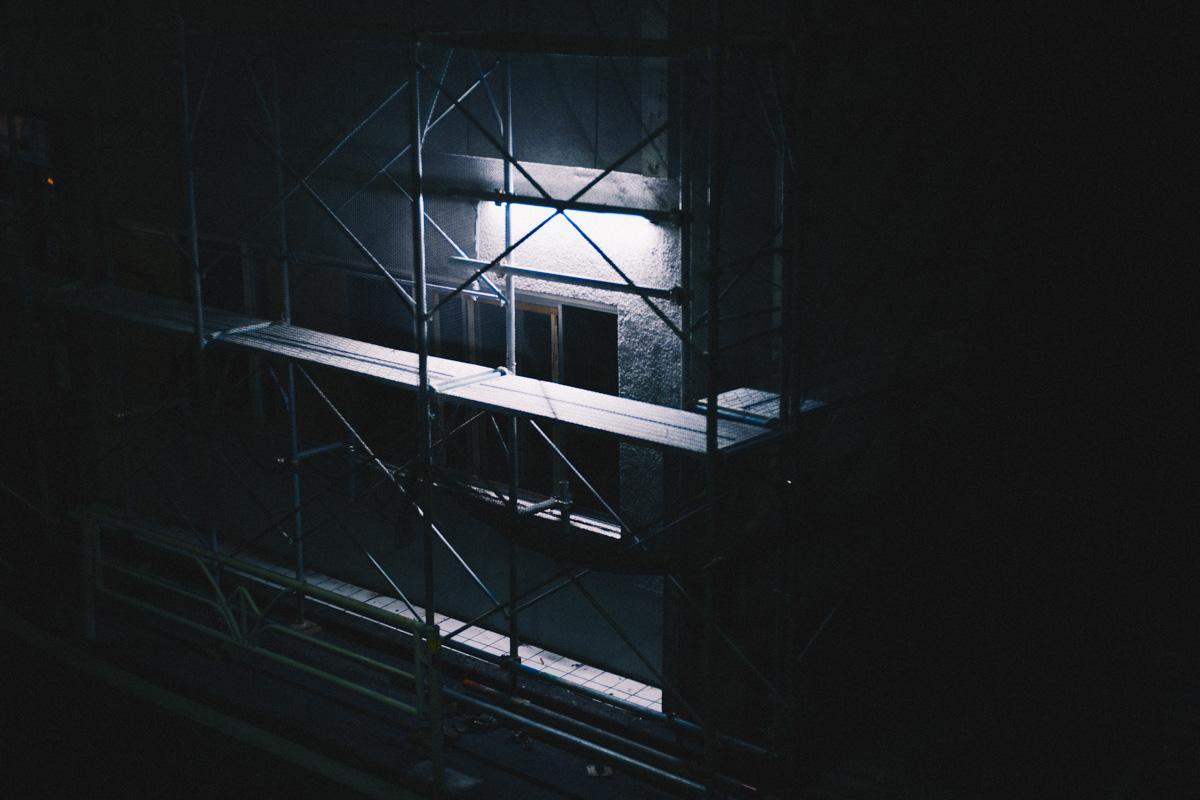 改装中の建物|Leica M10 + C Sonnar T* 1.5/50 ZM