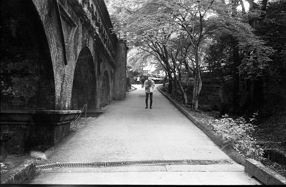 南禅寺の水路閣 LEICA M5 + SUMMILUX 35mm F1.4 + Kodak TRI-X 400