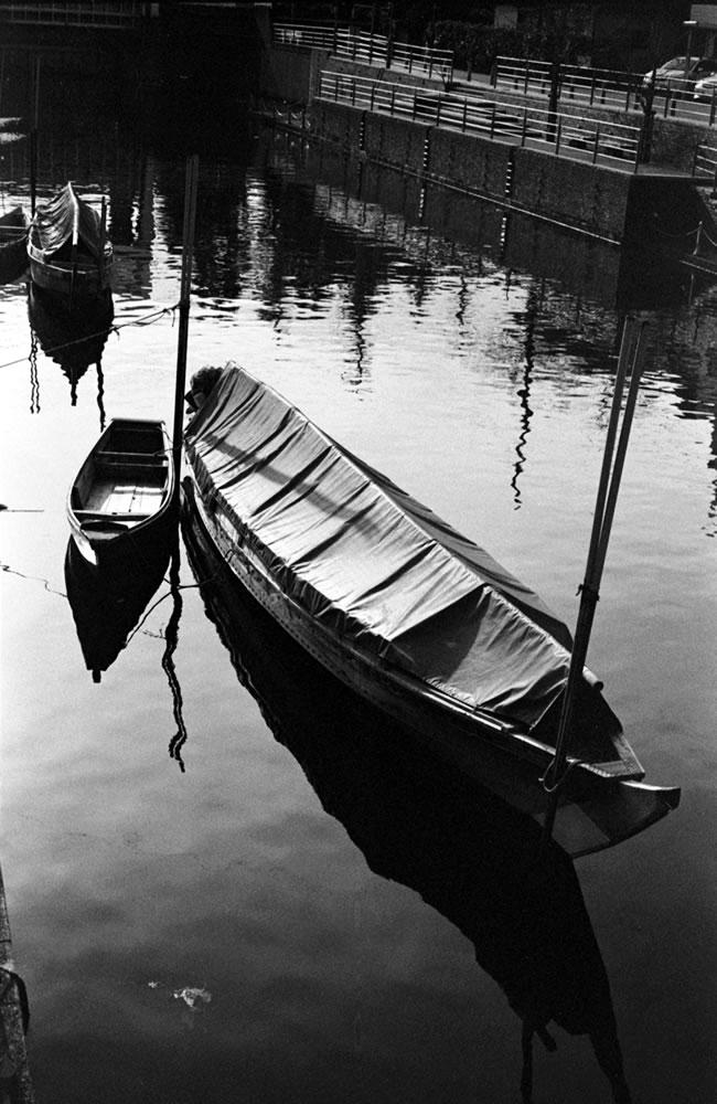 浦安の渡り船|Leica M3 + C Sonnar T* 1.5/50 ZM + Fujifilm Neopan 400 Presto