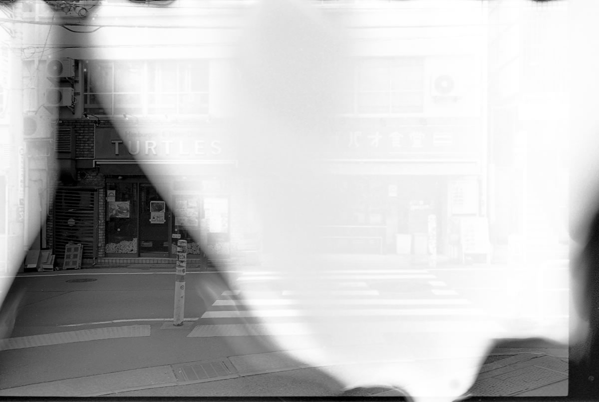 フィルムの巻取りに失敗して現像液が行き届かなかった|LEICA M5 + C Sonnar 50mm F1.5 + Kodak TRI-X 400