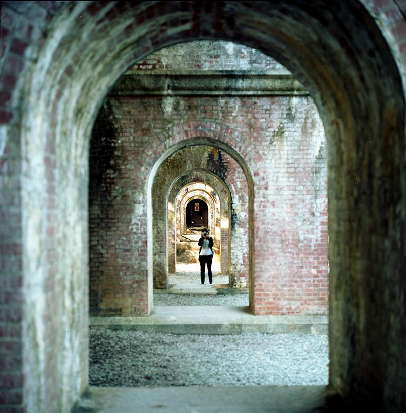 南禅寺の水路閣|ROLLEIFLEX 2.8F + KODAK PORTRA 160