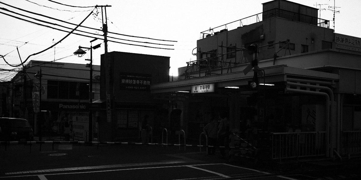夕方の妙蓮寺(Leica M10)
