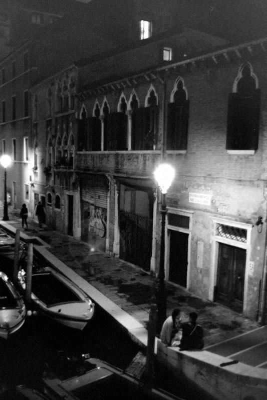 ヴェネチアの夜|Leica M5 + Canon 35mm F1.5