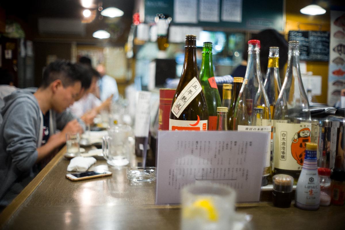 辛口の日本酒は少ない|Leica M10 + Canon 35mm f1.5
