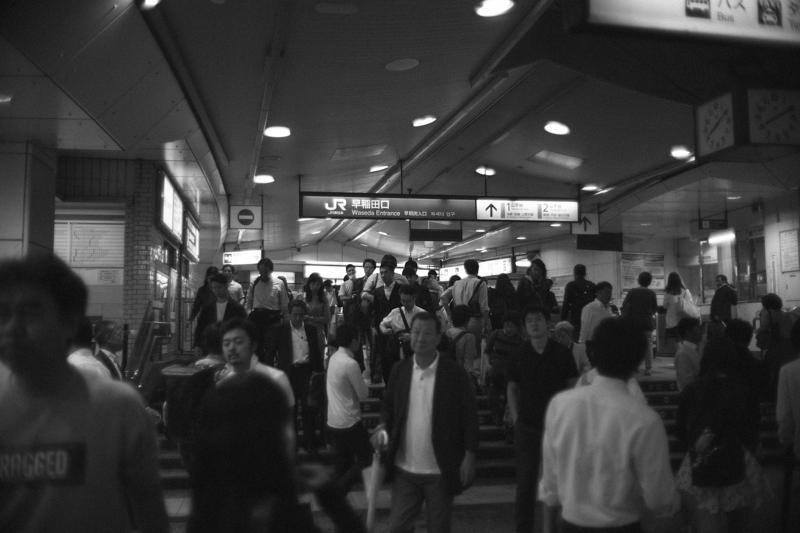 高田馬場駅改札 Leica M10 / Canon 35mm F1.5
