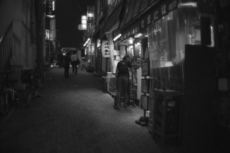 小さな飲食店が魅力の高田馬場 Leica M10 / Canon 35mm F1.5