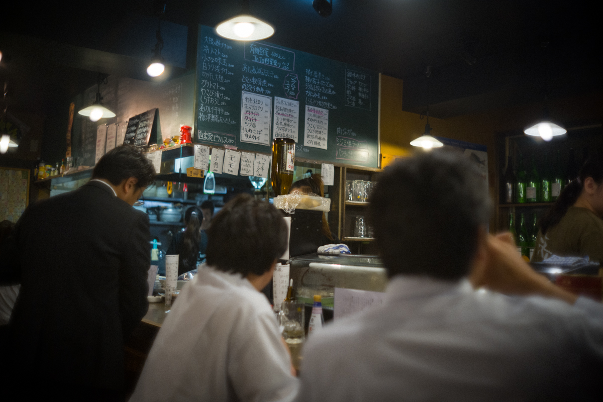 海とは日本酒に合わせたメニューが豊富|Leica M10 + Canon 35mm f1.5