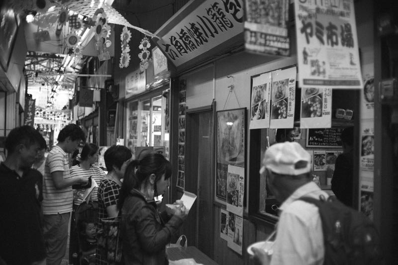 六角橋商店街には行列ができる店も