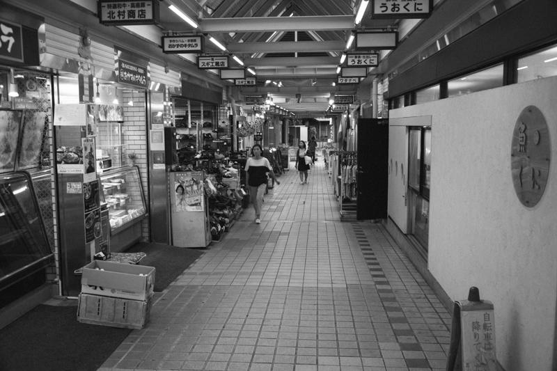 妙蓮寺のかわいらしい商店街
