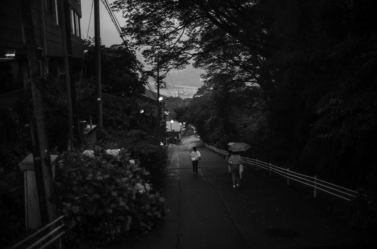 河岸段丘が特徴的な沼田市 |Leica M10 Monochrome + Summilux 35mm f1.4