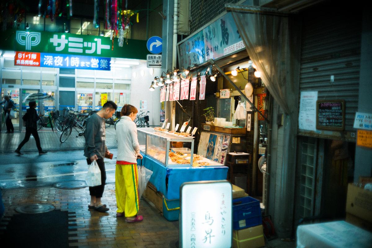 これまたレトロな椎名町の商店街|Leica M10 + Canon 35mm F1.5