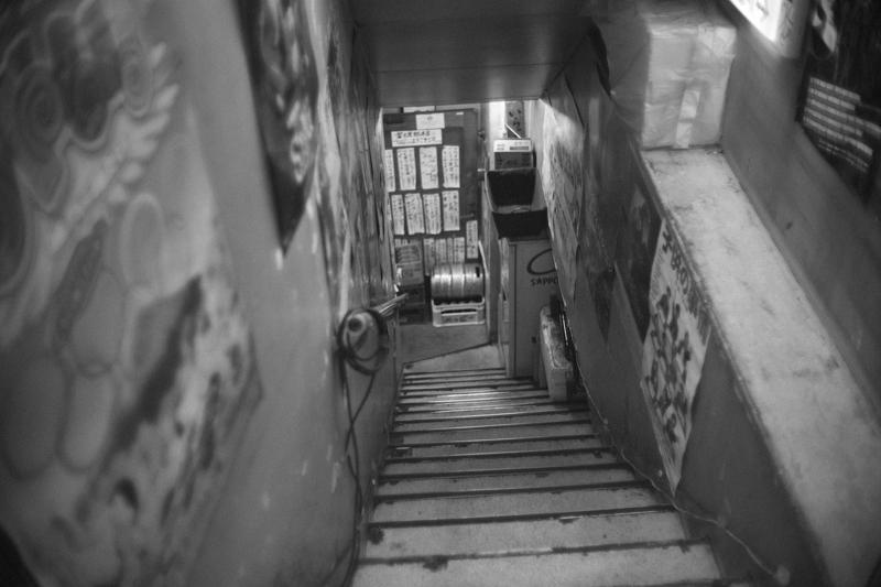 富士屋本店への階段