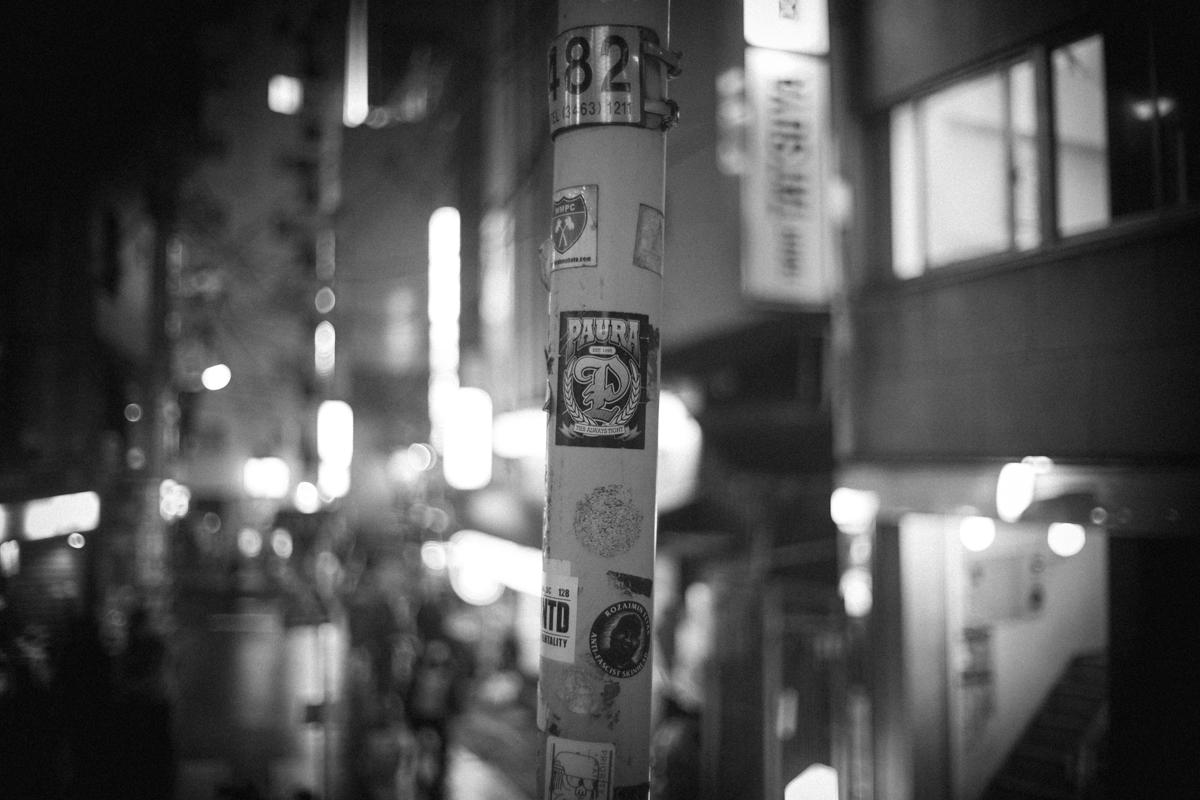 桜丘町の夜|Leica M10 + Canon 35mm F1.5