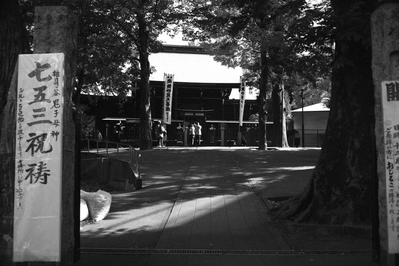 鬼子母神の裏の参拝場所|Leica M10 + Canon 35mm F1.5
