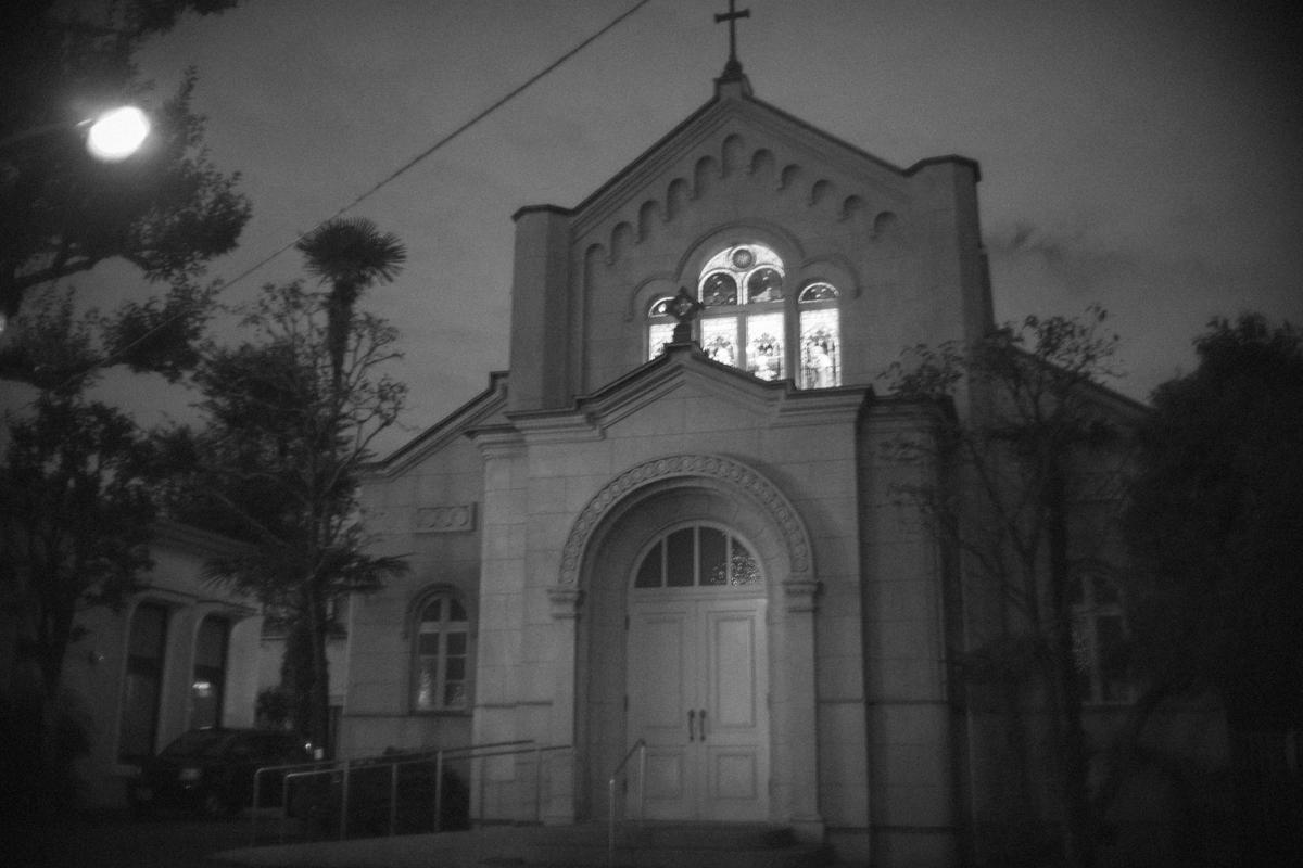 教会とライカ|Leica M10 + Canon 35mm F1.5