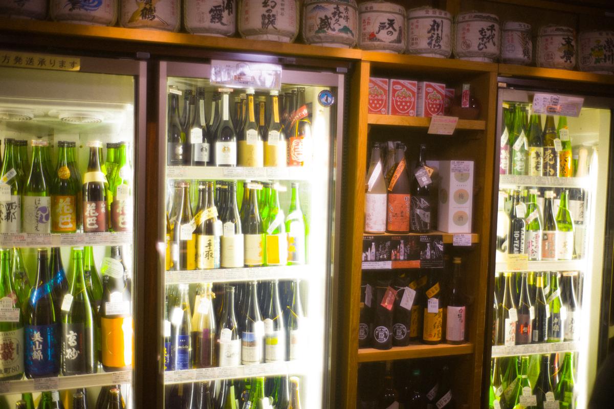日本酒は選り取り見取り|Leica M10 + Summilux 35mm F1.4