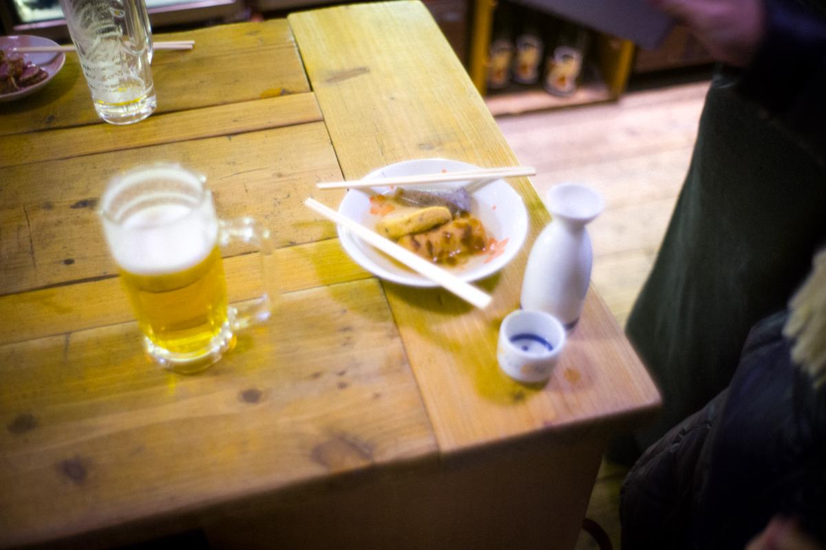 折原商店はビールもおでんも美味しい|Leica M10 + Summilux 35mm F1.4
