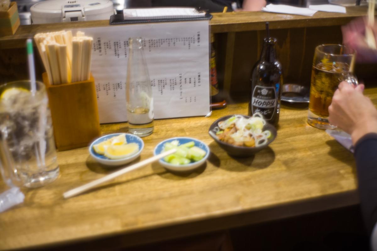 やまちゃんの一品料理も美味しい|Leica M10 + Summilux 35mm f1.4