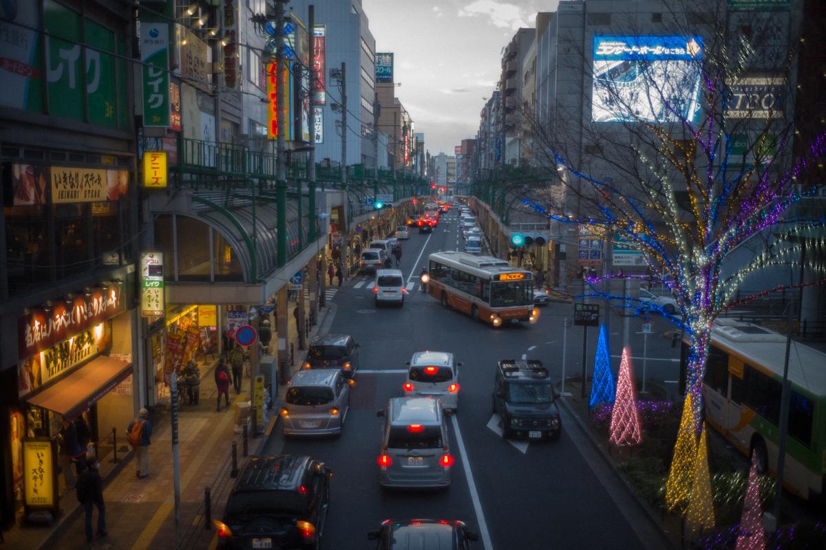 北千住の大きな商店街|Leica M10 + Summilux 35mm F1.4