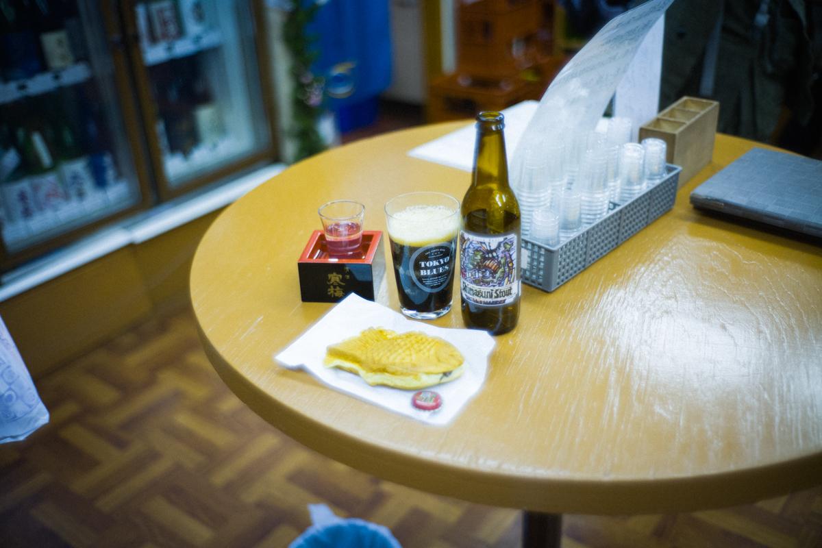 たい焼きと地ビールが意外にイケる|Leica M10 + Summilux 35mm f1.4