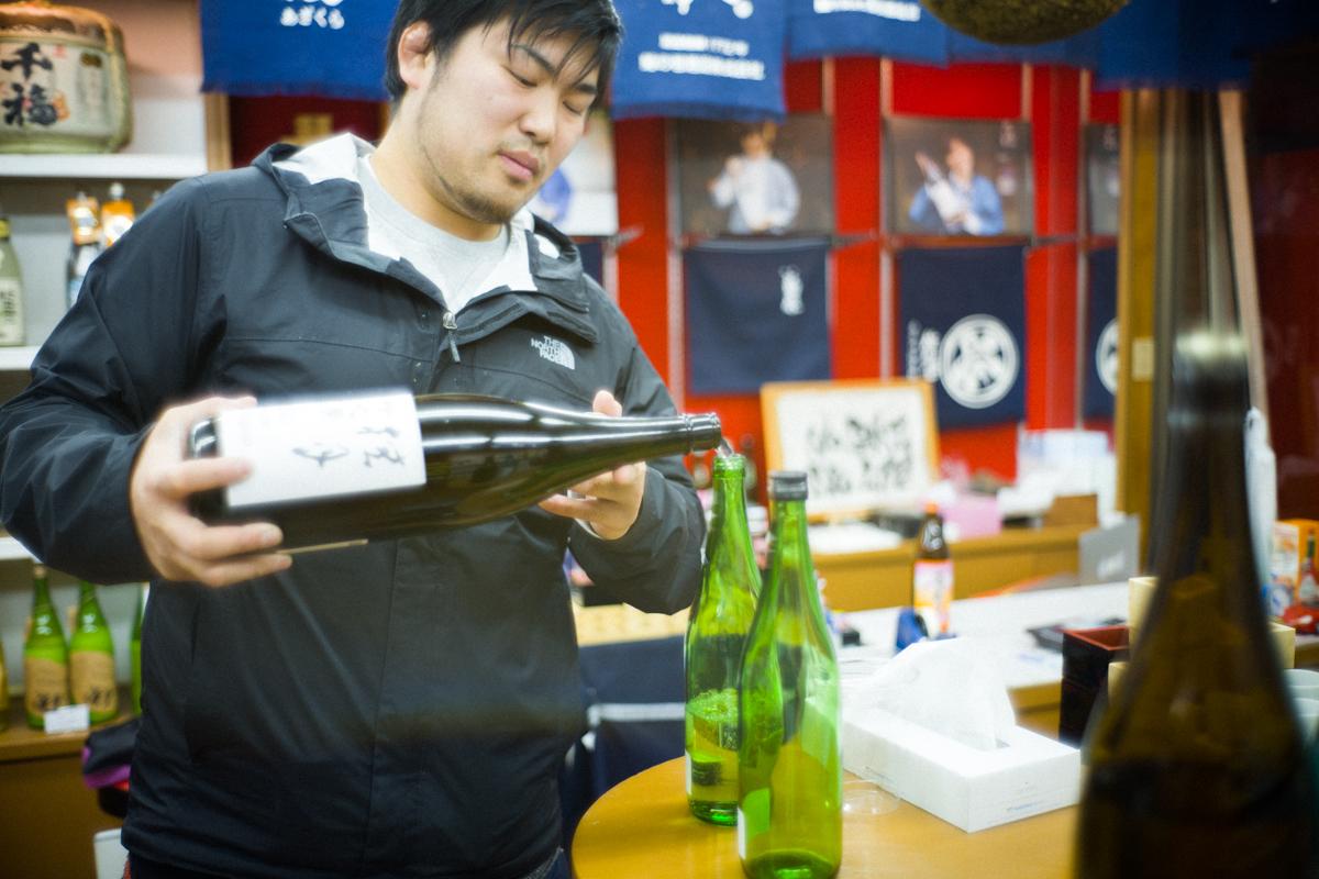 量り売りで日本酒を購入できる|Leica M10 + Summilux 35mm f1.4