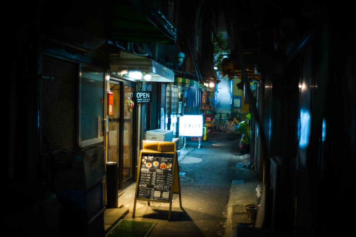 夜の赤羽の路地も魅力的|Leica M10 + Summilux 35mm f1.4