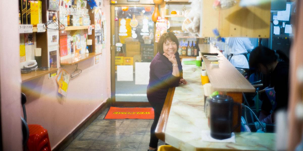 江古田・ひょうたんの女将|Leica M10 + Summilux 35mm f1.4