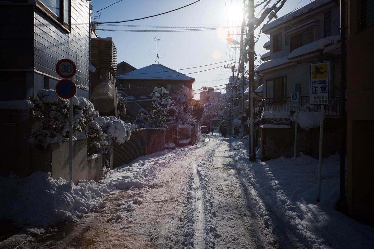 大雪の翌朝|Leica M10 + Summilux 35mm f1.4