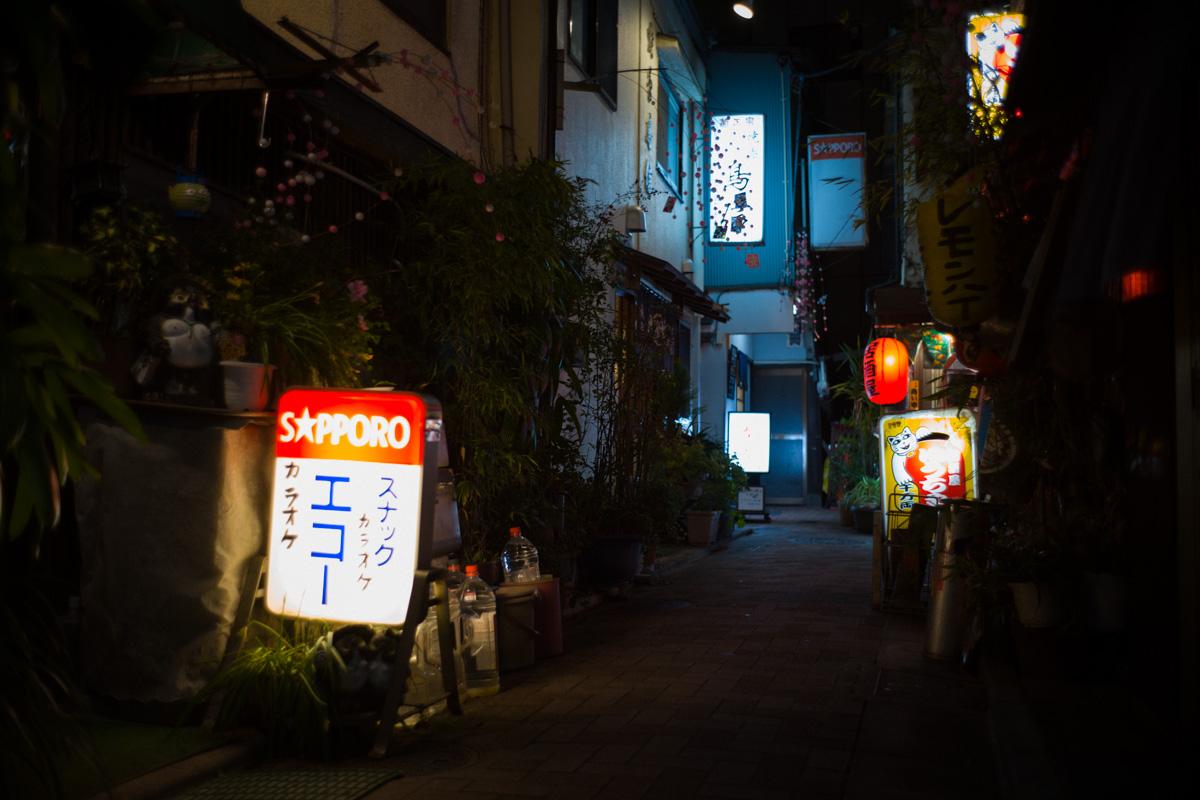 門仲の古い飲み屋街も発見|Leica M10 + Summilux 35mm f1.4