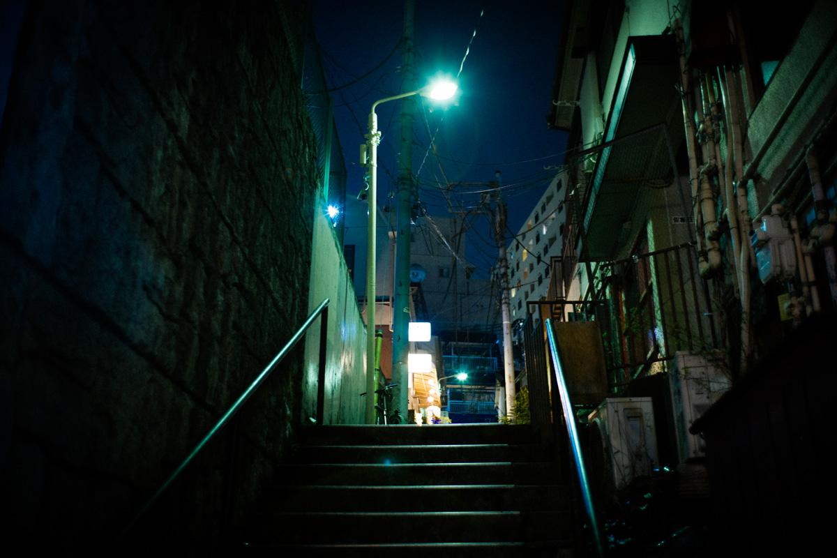 神泉の街頭|Leica M10 + Summilux 35mm f1.4
