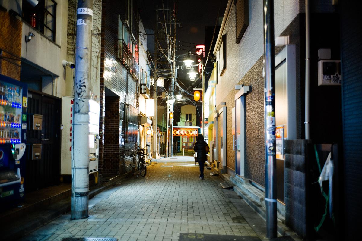 心なしか明るくなった百軒店|Leica M10 + Summilux 35mm f1.4