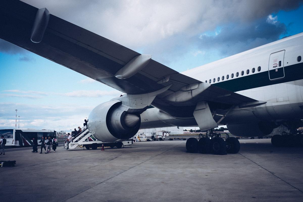 アリタリア航空でイタリアへ|Leica M10 + Summilux 35mm f1.4