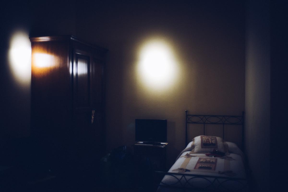 農家レストランの寝室。とても可愛らしいホテル|Leica M10 + Summilux 35mm f1.4