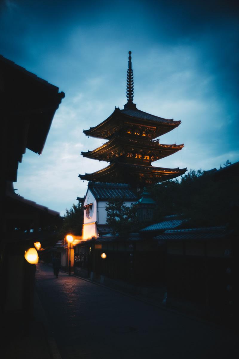 八坂神社の五重塔|Leica M10 + Summilux 35mm f1.4