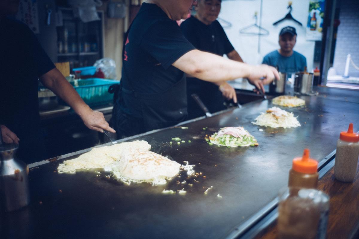 美味しい広島お好み焼きを食べたい!|Leica M10 + Summilux 35mm f1.4