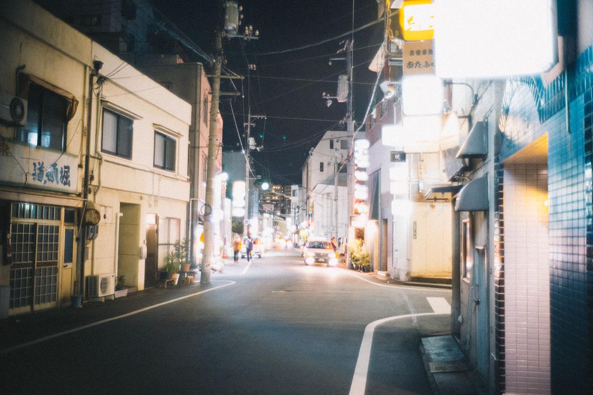 福山の繁華街が面白い|Leica M10 + Summilux 35mm f1.4