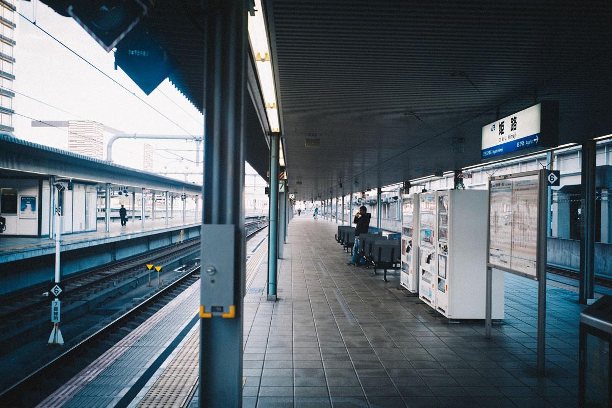 姫路駅に到着|Leica M10 + Summilux 35mm f1.4