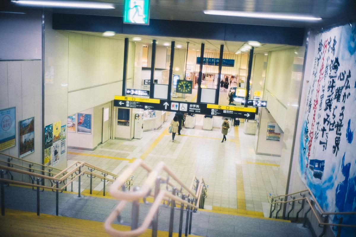 鳥取駅の構内|Leica M10 + Summilux 35mm f1.4
