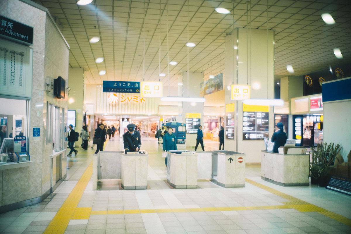 鳥取駅は自動改札機はないらしい|Leica M10 + Summilux 35mm f1.4