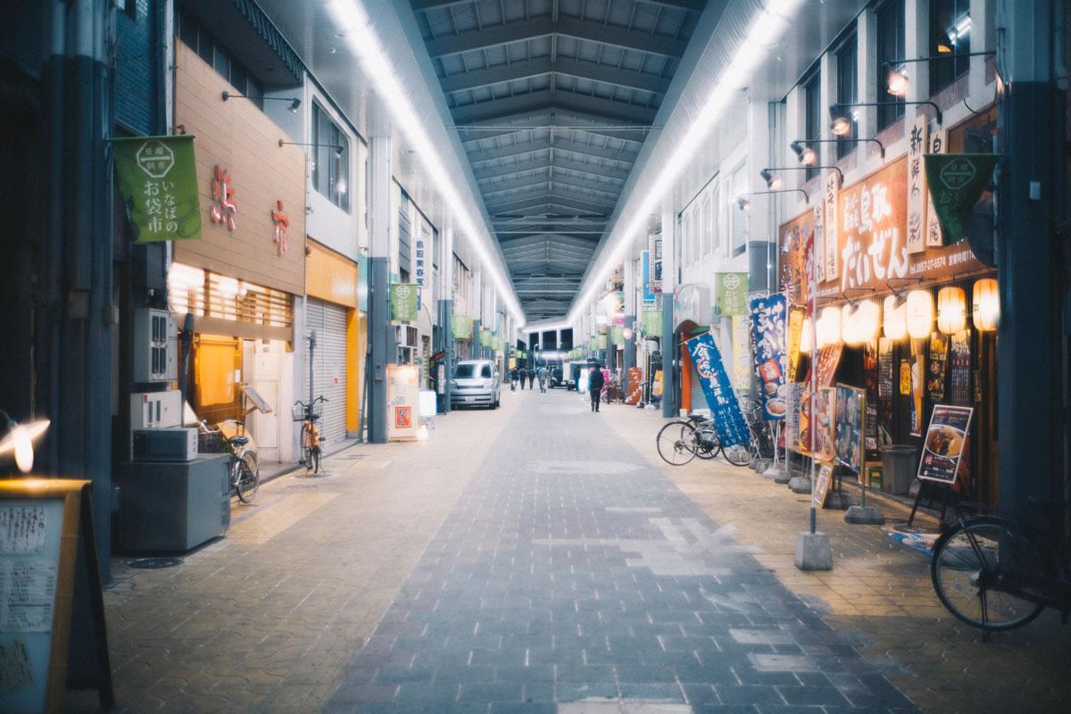 アーケード街はなかなか大きい|Leica M10 + Summilux 35mm f1.4