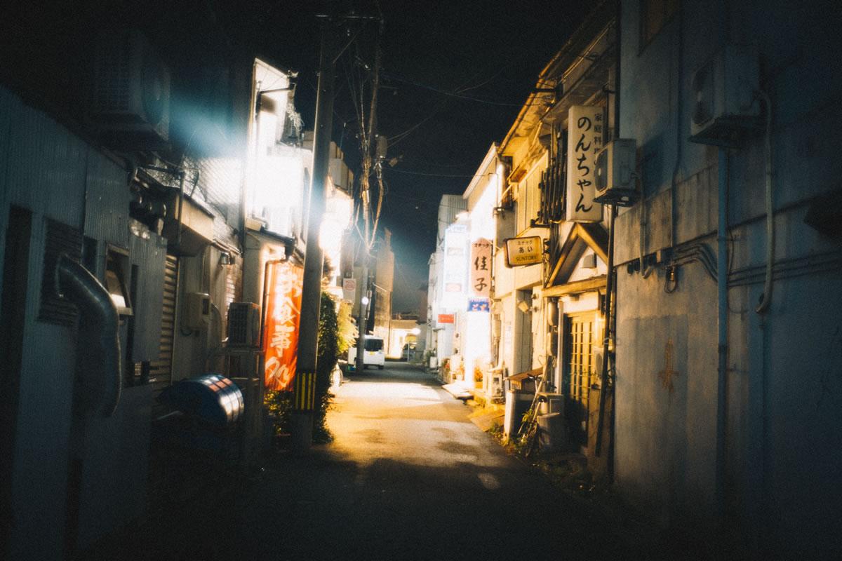 鳥取のネオン街|Leica M10 + Summilux 35mm f1.4