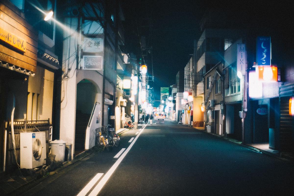 繁華街は鳥取駅から徒歩圏内|Leica M10 + Summilux 35mm f1.4