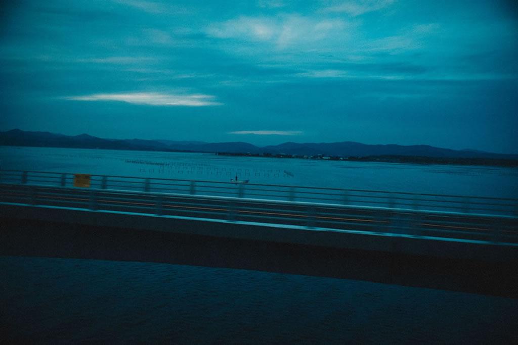 日が暮れた浜名湖|Leica M10 + Summilux 35mm f1.4