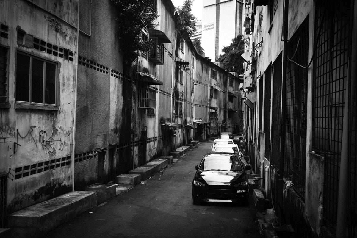 裏路地は趣があるクアラルンプール|Leica M10 + Summilux 35mm f1.4