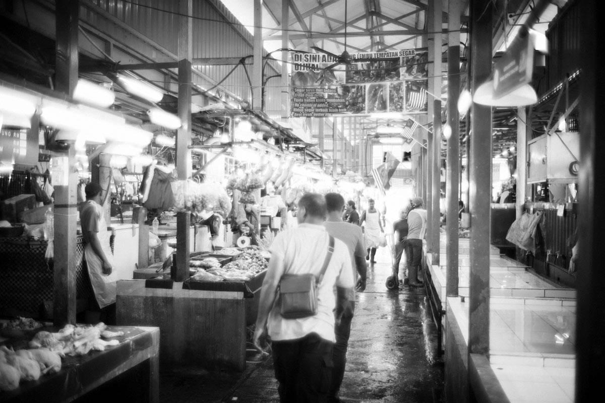 チョーキット市場の肉売り場|Leica M10 + Summilux 35mm f1.4